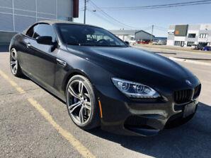 2012 BMW M6 CONVERTIBLE / TWIN TURBO 560 HP