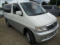 MAZDA BONGO 2.5 PETROL,1999, ROCK N' ROLL BED, FULL SIDE CONVERSION AND AWNING