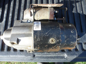 1987 Chevy Truck Starter as New - on the truck 1 month