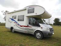 SOLD MORE REQUIRED FORD EUROMOBIL 675VB 6 BERTH MOTORHOME FOR SALE