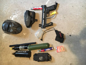 paintball gun and other stuff