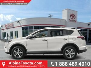 2018 Toyota RAV4 AWD XLE  - 	Sunroof -  Power Tailgate