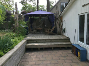 Cottage Grand Bend August July open