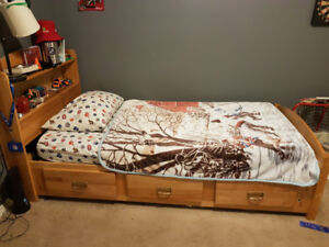 Twin captains bed (2 available)