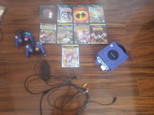 Game cube and games