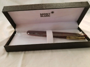 Mont Blanc ball point pen