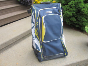 "Two (2) Grit HTSE/HT5 Junior Hockey Tower Wheel Bags 33""H"