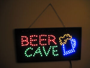 LED Beer Cave Sign