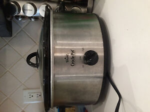 Crockpot/slow cooker, only used twice