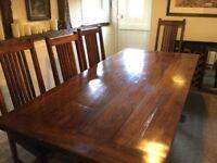 Refectory table-Hardwood