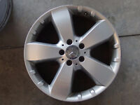 set of 4 alloy wheels for Mercedes ML, will fit ML350, R350