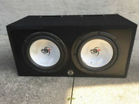 "2 12"" Kenwood DB+ (in box) w/ Capacitor"