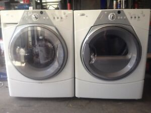 Laveuse/secheuse whirlpool duet frontale