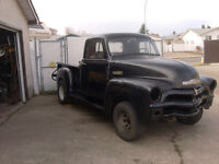 1955 chevy short box step side verry little rust 1x 5 hole $5500