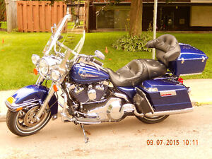 Moto Harley Davidson Road King 2006