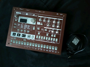 Drum machines and synths