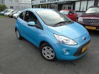 2010 Ford Ka 1.2 Zetec - Blue - 12 months MOT + Platinum Warranty!