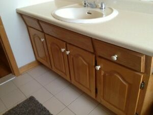 Wow!!! Sink counter, faucet, mirror, for sale!