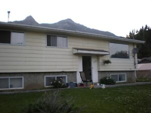 4 bedroom house for rent in Elkford BC
