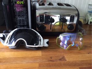 Oakley air brake goggles with extra lens