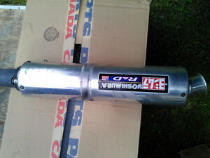 GSXR600 1997-2000  YOSHIMURA BOLT ON EXHAUST CAN USED Windsor Region Ontario image 1