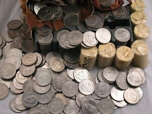 HUGE-IKE-DOLLAR-HOARD-EISENHOWER-COIN-10-COINS-PER-LOT