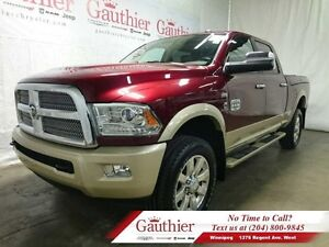 2016 Ram 2500 Laramie Longhorn Crew4x4 w/Rambox *LOCAL TRADE*