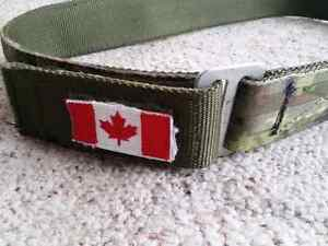 CADPAT Canadian Forces tactical belt Belleville Belleville Area image 2