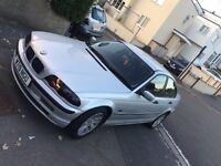 Bmw 3 series 1.8 automatic with 1 years mot and all service book £750