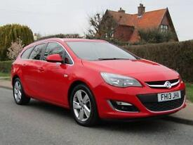 2013 Vauxhall Astra 1.7 CDTi 16V ecoFLEX SRi 5dr [Start Stop] TURBO DIESEL ES...