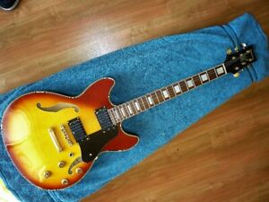 Vintage guitare  IBANEZ Artist Korea 2001 Semi Hollow