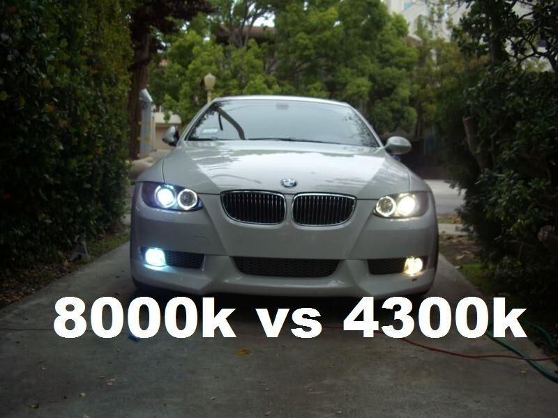 Replacement D1s 8000k Xenon Hid Headlight Bulbs Bmw