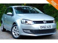 2012 62 VOLKSWAGEN POLO 1.2 MATCH 3D 59 BHP 62MPG! LOW MILES!