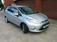 Ford Fiesta 1.4TDCi Zetec Silver. AC. WARRANTY. ALLOYS. EW. EM. Q/CLEAR. £20 TAX