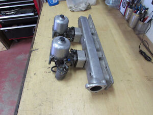Jaguar XKE, E type dual SU carbs and intake manifold North Shore Greater Vancouver Area image 2