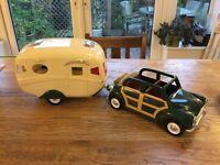 Sylvanian Car & Caravan