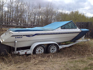 Eagle Sabre Jet Boat with Trailer