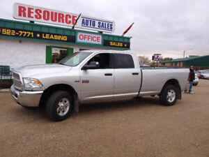 2012 Dodge Power Ram 2500 SLT Quad Cab 4X4 Long Box Pickup Truck