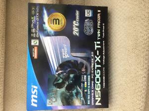 GeForce GTX 560ti Twin Frozr II [] No Game Included [] Used