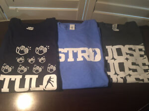 Various Toronto Blue Jay SGA Tshirts, Hats, other Items