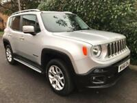 JEEP RENEGADE M-JET LIMITED 2016 Diesel Automatic in Grey