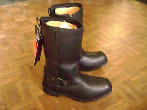 Leather Biker Boots Sale $169.99 Gloves Helmets