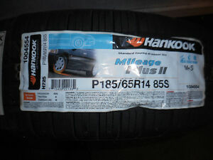1-P185/65R14 85S HANKOOK MILEAGE PLUS 2 ASK 615 B8A