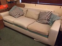 Habitat Three Seat Sofa