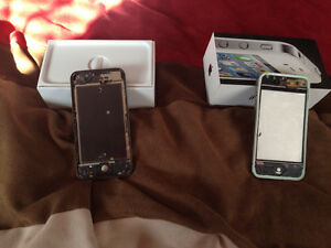 2 iPhone 4 phones for parts