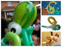 Balloon Animal Twisting Artist