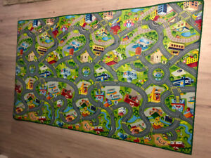 Brand new kids car play mat.  6.5x4ft