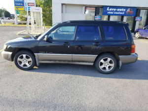 Subaru Forester old lady but in good condition
