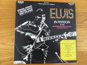 Elvis Album Live in Las Vegas