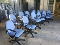 Quantity of swivel chairs